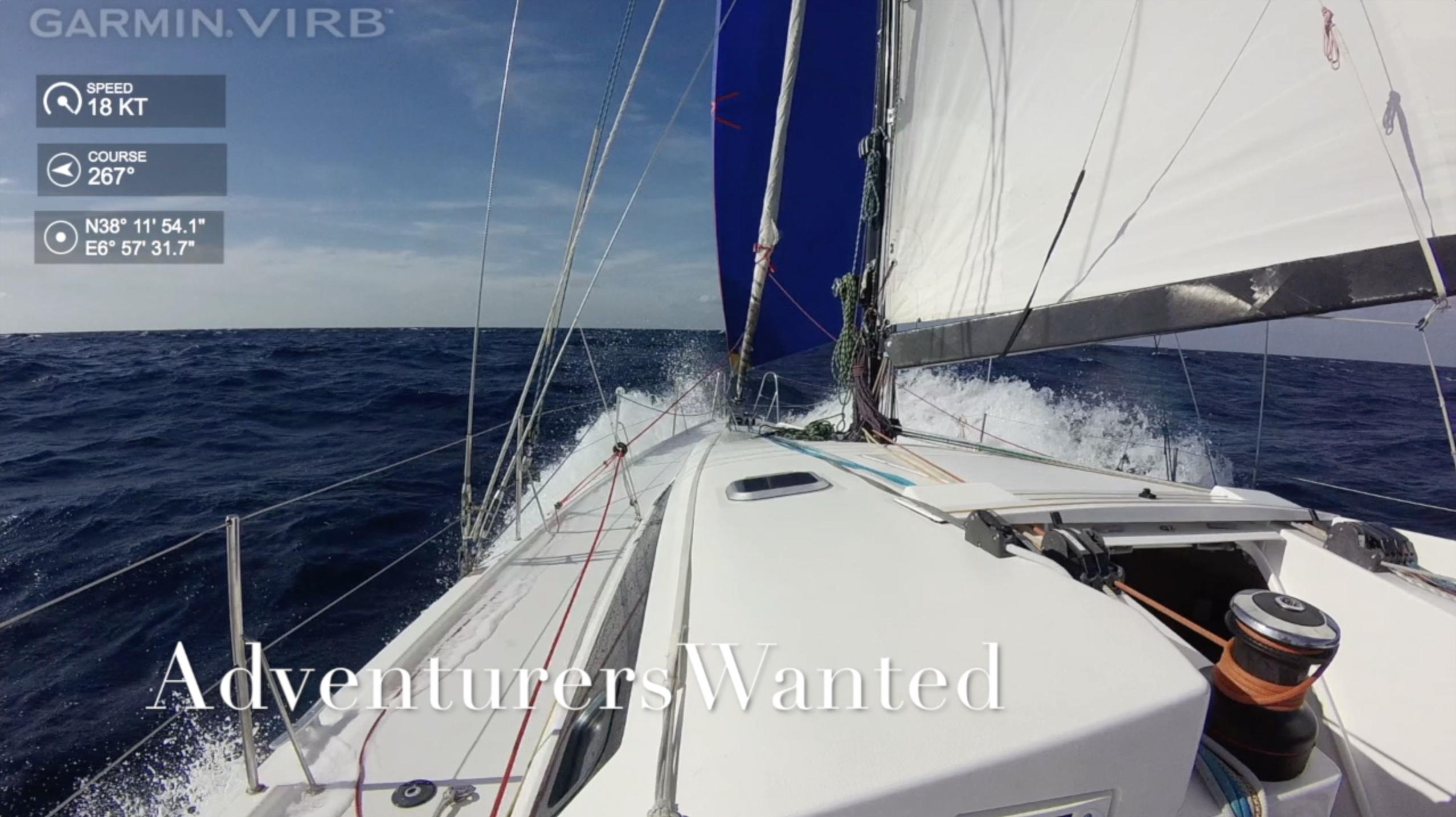 Adventure: Crossing the Mediterranean
