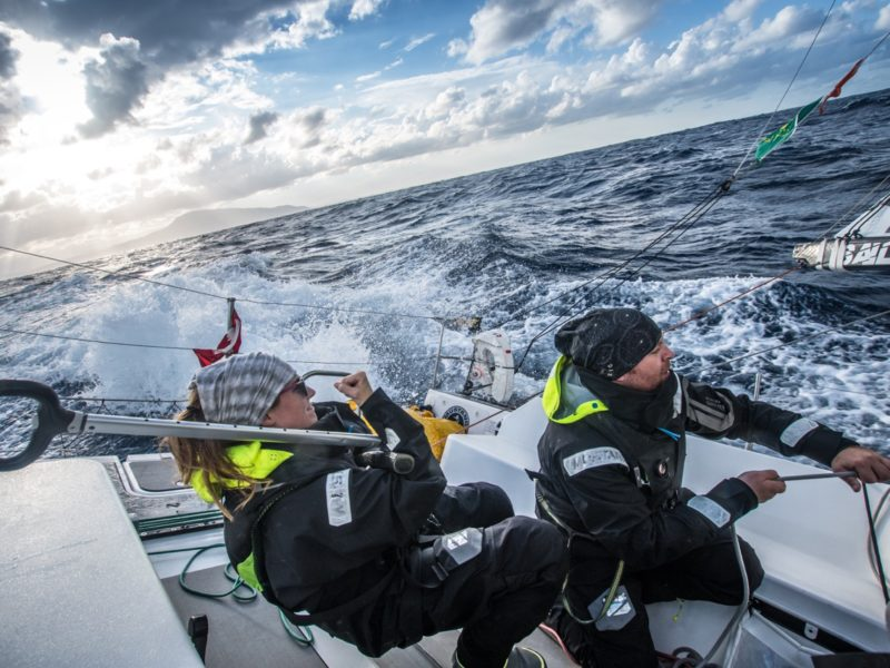 Knocked Down by the Rolex Middle Sea Race