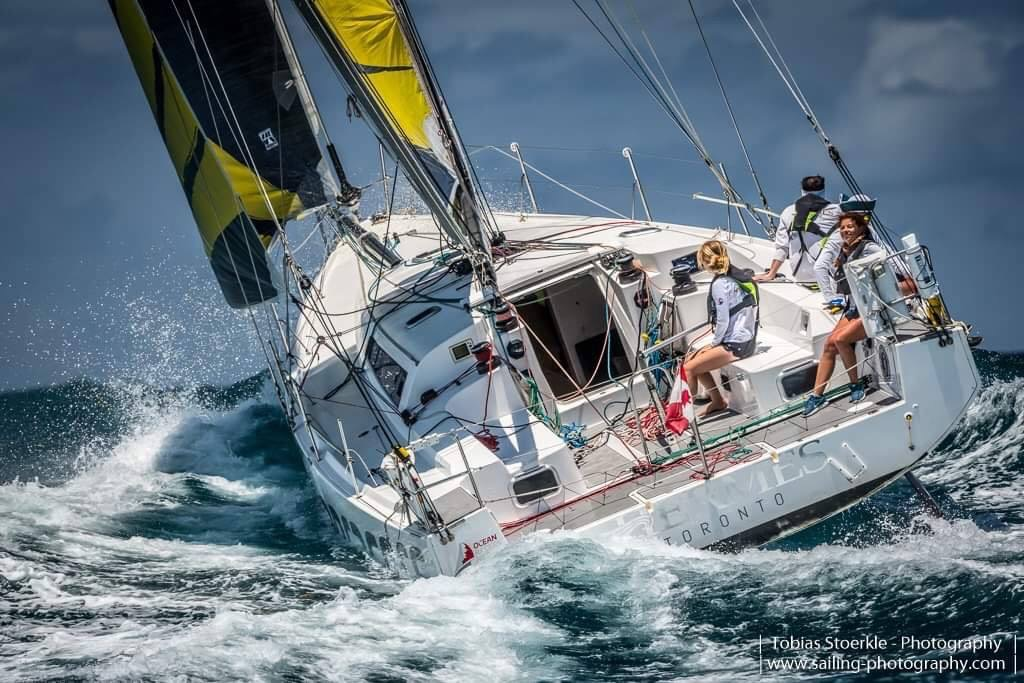 Antigua Bermuda Race Start Hermes